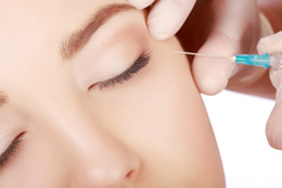 Botox injection performed by parkway plastic surgery in Jacksonville Florida
