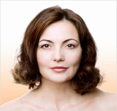 image of a womens wrinkle-free skin