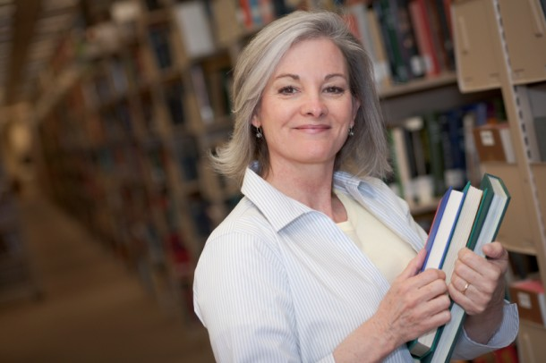 A beauty boost can be a confidence boost if you're among the increasing number of older adults headed back to college.